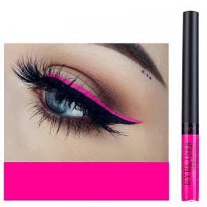Matte Liquid Long Lasting High Pigmented Eye Liner - Hot Pink