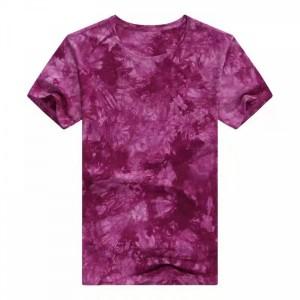 Round Neck Mesh Elegant Wear Top - Dark Purple
