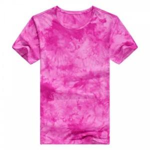 Round Neck Mesh Elegant Wear Top - Hot Pink