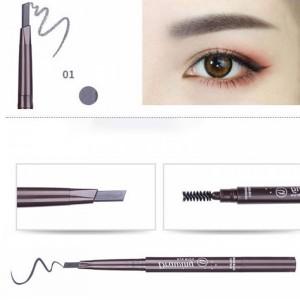 Water Resistant Eye Grooming Makeup Liner With Mascara - Dark Gray