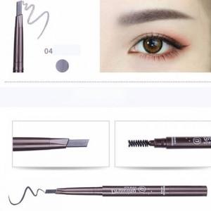Water Resistant Eye Grooming Makeup Liner With Mascara - Black