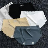 Wavy Nylon Soft Fabric Women Underwear Set - Multicolor