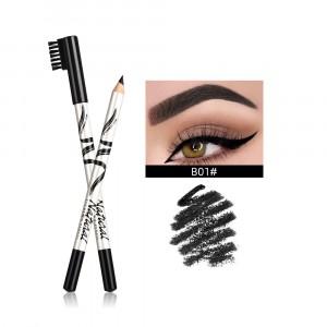 Cross Border Thin Eyebrow Pencil - Black