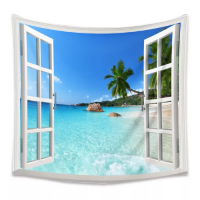 Home Decor Beach View Outside Design Wall Hanging Tapestry