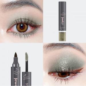 2 In 1 Pearl Liquid Eye Shadow Eyeliner - Light Green