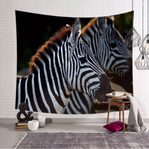Home Decors Zebra Design Wall Hanging Tapestry