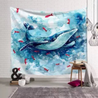 Home Decors Sea Creature Design Wall Hanging Tapestry
