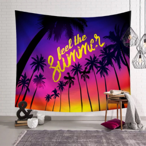 Home Decors Palm Tree Design Wall Hanging Tapestry