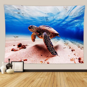 Home Turtle Design Wall Hanging Tapestry