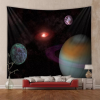 Home Galaxy Design Wall Hanging Tapestry
