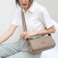 Printed Designers Zipper Closure Fancy Messenger Bags - Beige
