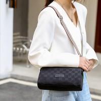 Printed Designers Zipper Closure Fancy Messenger Bags - Black