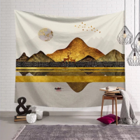 Home Decors Mountain Design Wall Hanging Tapestry