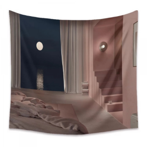 Home Midnight Design Wall Hang Tapestry