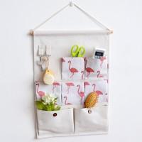 Multi Functional Wall Hanging Waterproof Storage Organizer - White