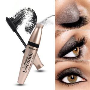 Cross Border Thick Curling Silicone Brush Eye Mascara - Golden
