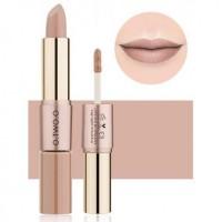 2 In 1 Double Head Matte Mist Lip Gloss Lipstick # 03
