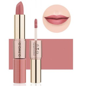 2 In 1 Double Head Matte Mist Lip Gloss Lipstick # 06