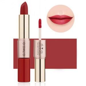 2 In 1 Double Head Matte Mist Lip Gloss Lipstick # 09