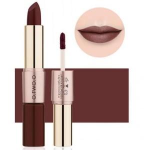 2 In 1 Double Head Matte Mist Lip Gloss Lipstick # 10