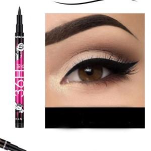 High Quality Waterproof Liquid Color Eyeliner - Black