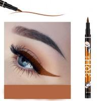 High Quality Waterproof Liquid Color Eyeliner - Brown