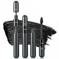 1 Pcs 2 In 1 High Quality Volumizing Waterproof Matte Mascara - Black