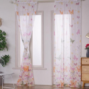 Butterfly Sheer Set of 2 Pieces