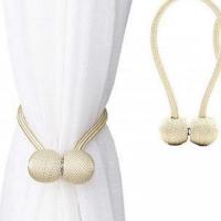 2 Pieces - Curtain Holder Tieback - Cream Color