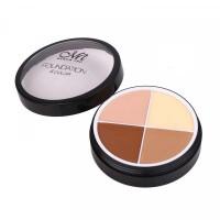 4 In 1 Round Shape Foundation Cream # 01