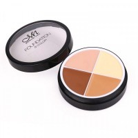 4 In 1 Round Shape Foundation Cream # 02
