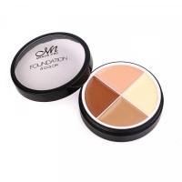 4 In 1 Round Shape Foundation Cream # 03