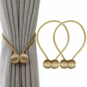 2 Pieces - Curtain Holder Tieback - Beige
