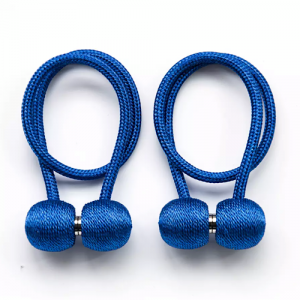 2 Pieces - Magnetic Tieback Curtain Holder - Blue