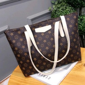 European Fashion Printed Large Capacity Printed Handbag