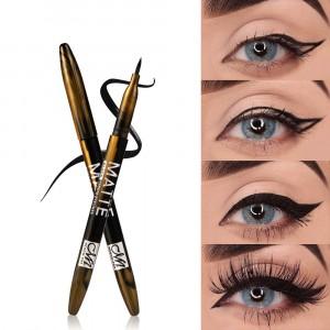 1Piece Waterproof Matte Liquid Cool Eyeliner Pen - Black