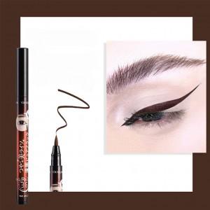 Good Quality Waterproof Liquid Eyeliner Pen - Brown