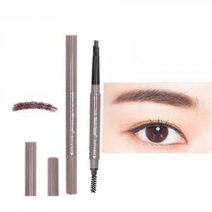 Double Head Waterproof Eyebrow Eyeliner Pencil # 01