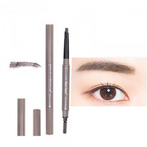 Double Head Waterproof Eyebrow Eyeliner Pencil # 03