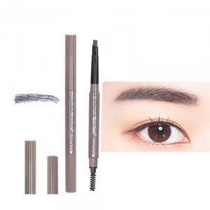 Double Head Waterproof Eyebrow Eyeliner Pencil # 04