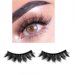 6D Three Dimensional Thick False Eyelashes # 01