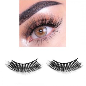 6D Three Dimensional Thick False Eyelashes # 10