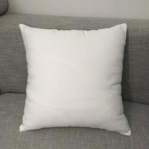 1 Piece White Soft Core Cushion