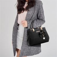 High Quality One Shoulder Cross Body Bag - Black