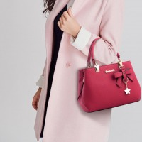 High Quality One Shoulder Cross Body Bag - Wine Red
