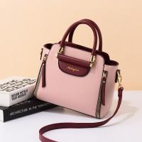 Fashionable Versatile Single Shoulder Bag - Pink
