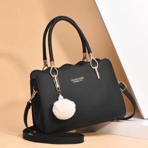 Grace Versatile Single Shoulder Bag - Black