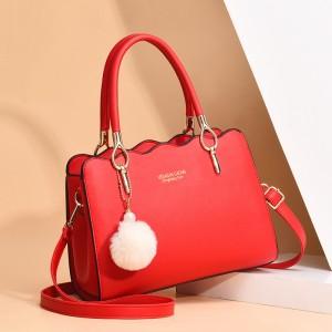 Grace Versatile Single Shoulder Bag - Red
