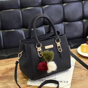 Fashion Senior Large Capacity Handbag - Black