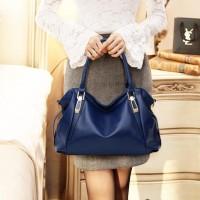 High Quality Large Capacity Handbag - Blue